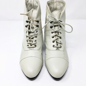 NWT Maine Woods Mandy Leather Lace Up Ankle Boots